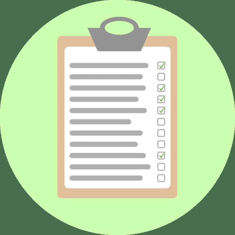 zoekwoordenlijst | checklist | Go2People Websites
