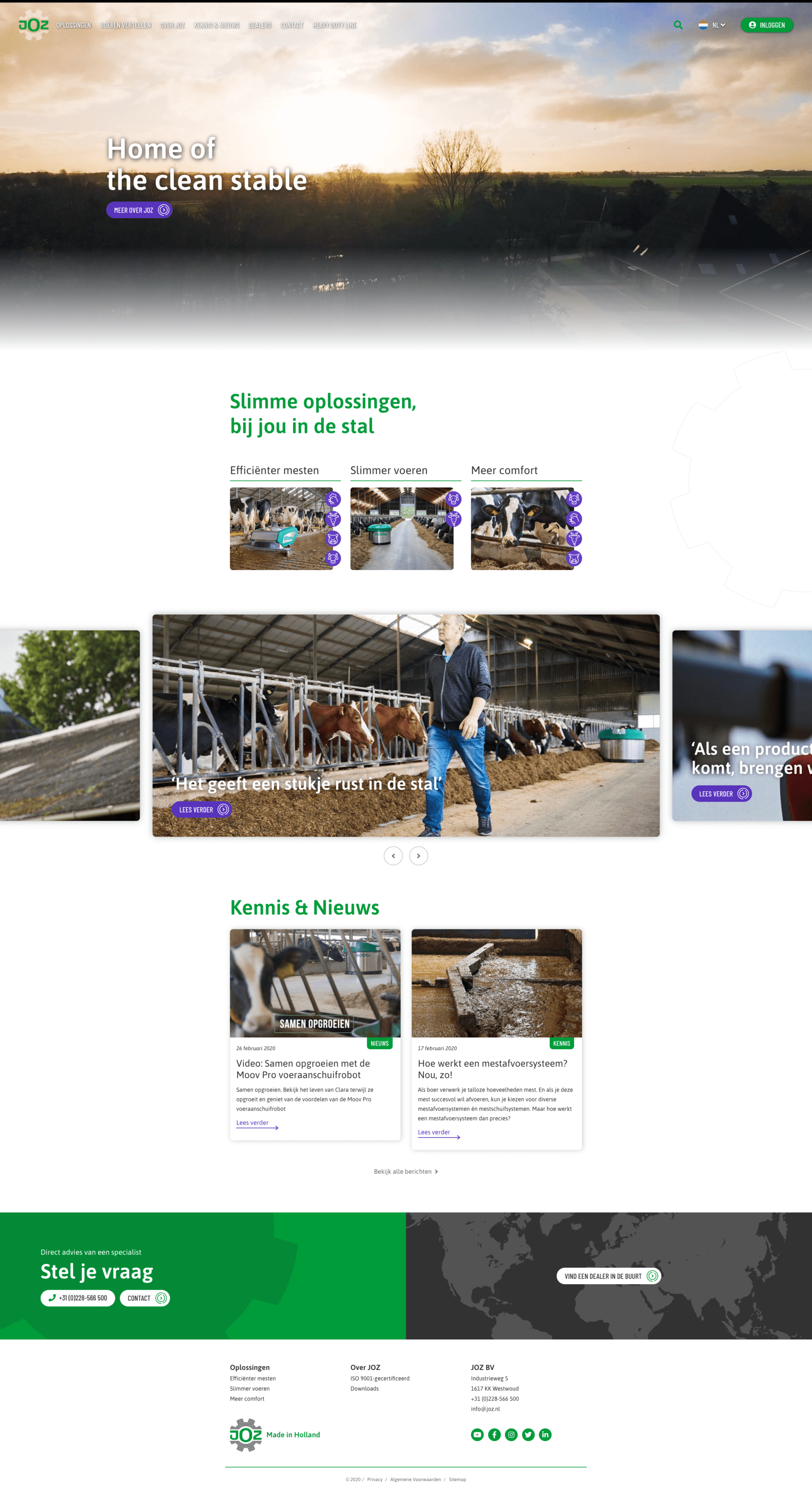 Website joz.nl