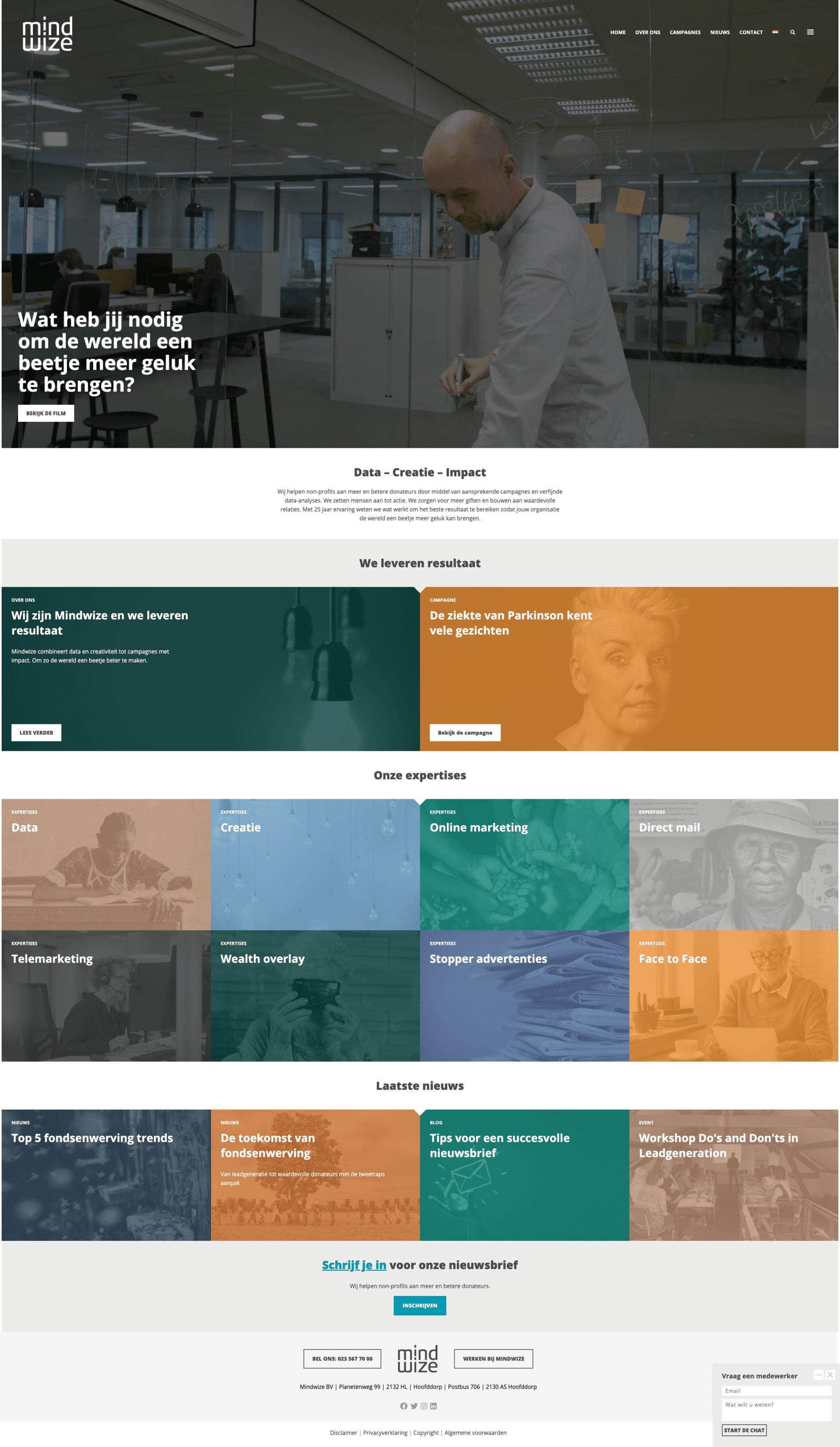 Website van mindwize.nl
