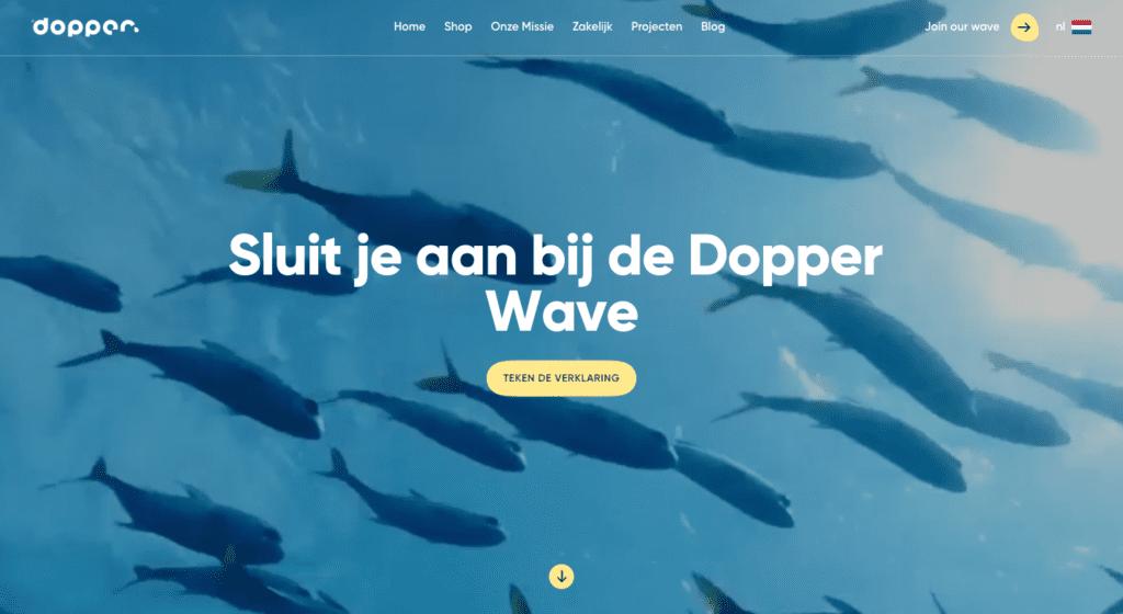 Dopper - Go2People Websites