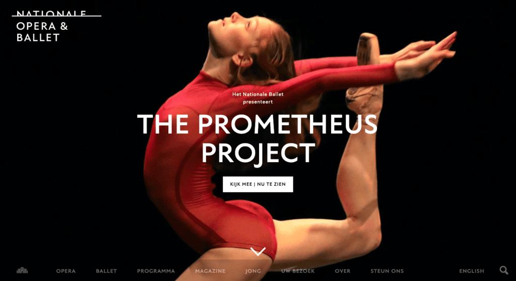 Nationale Opera & Ballet - Go2People Websites