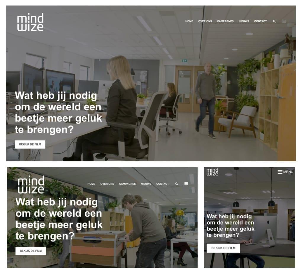 Responsive design Mindwize