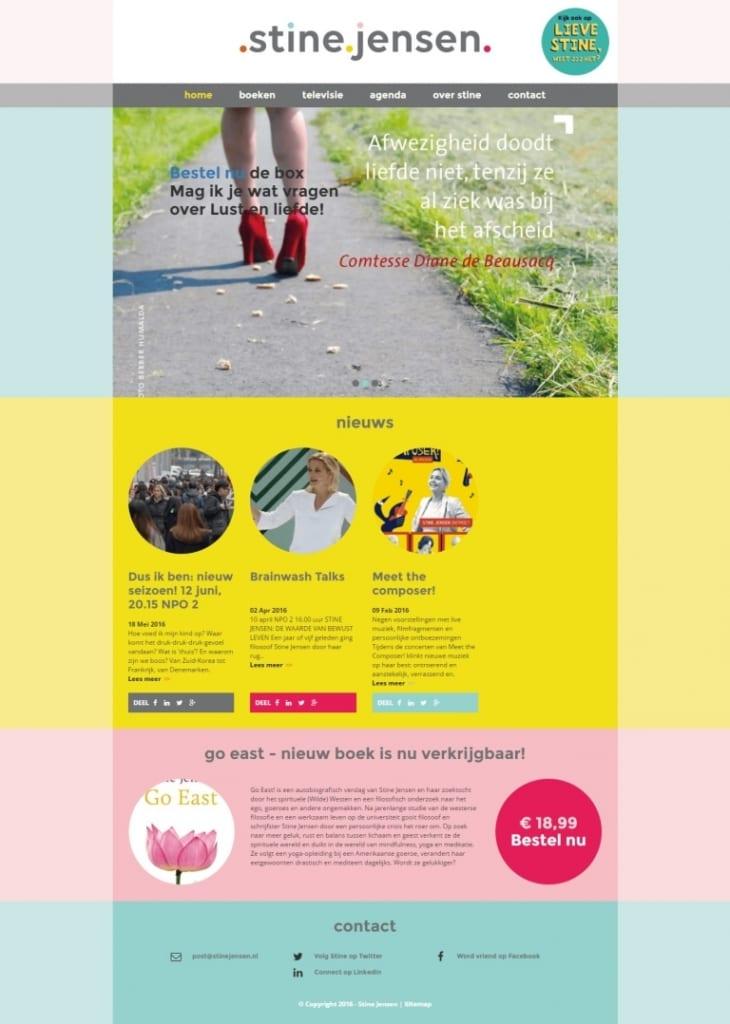 Design website Stine Jensen