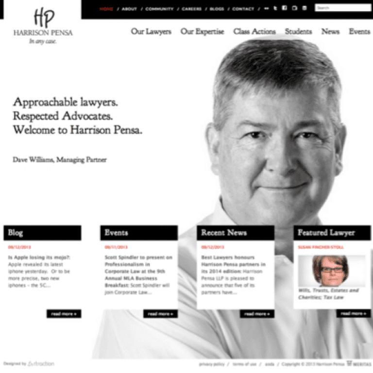 Website Harrison Pensa