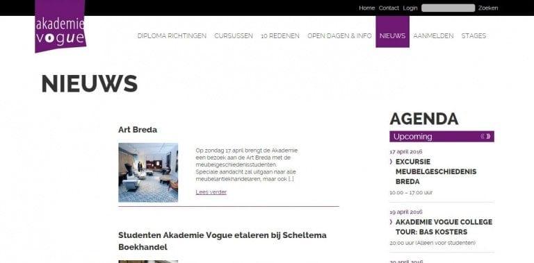 Akademie Vogue inhoud