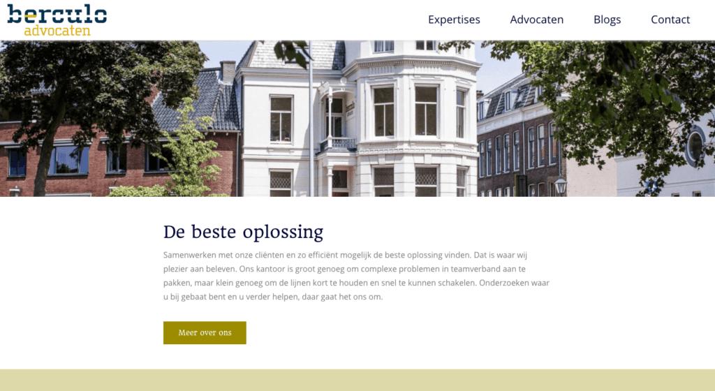 Berculo home | Go2People Websites