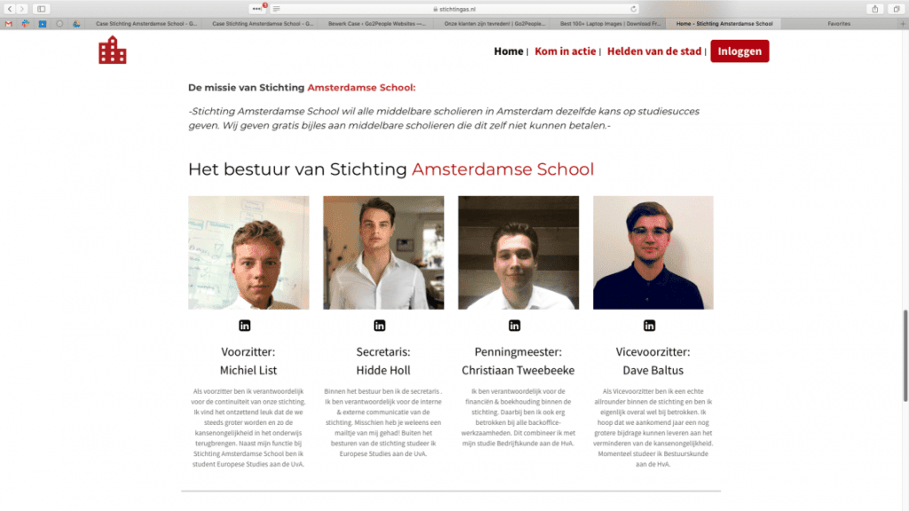 Bestuur Stichting Amsterdamse School