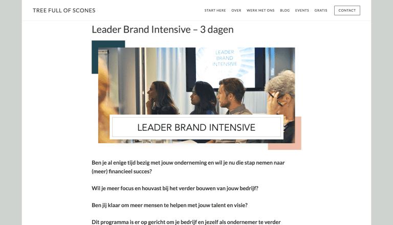 Leader Brand Intensive