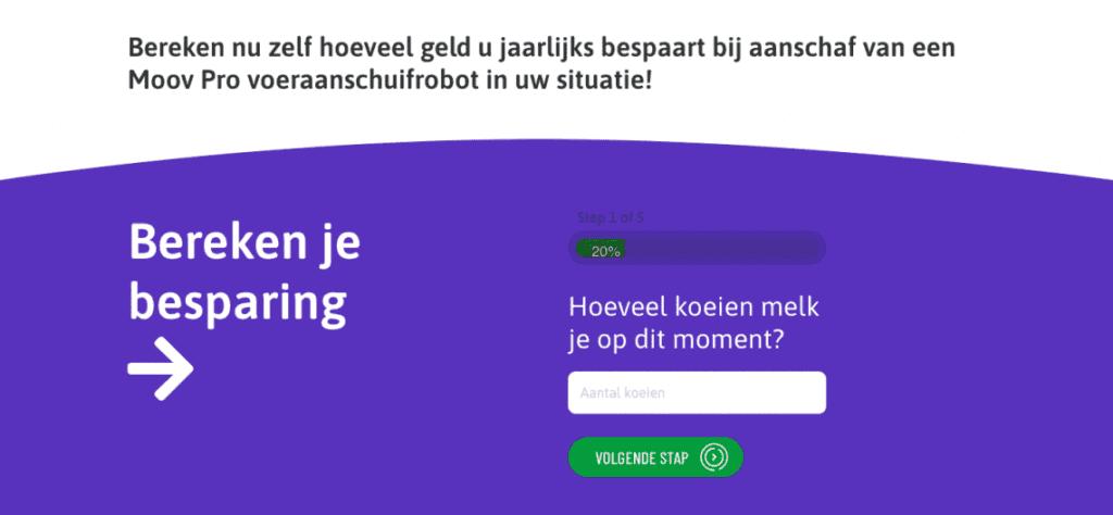 JOZ rekentool besparing voor boeren Go2People Websites