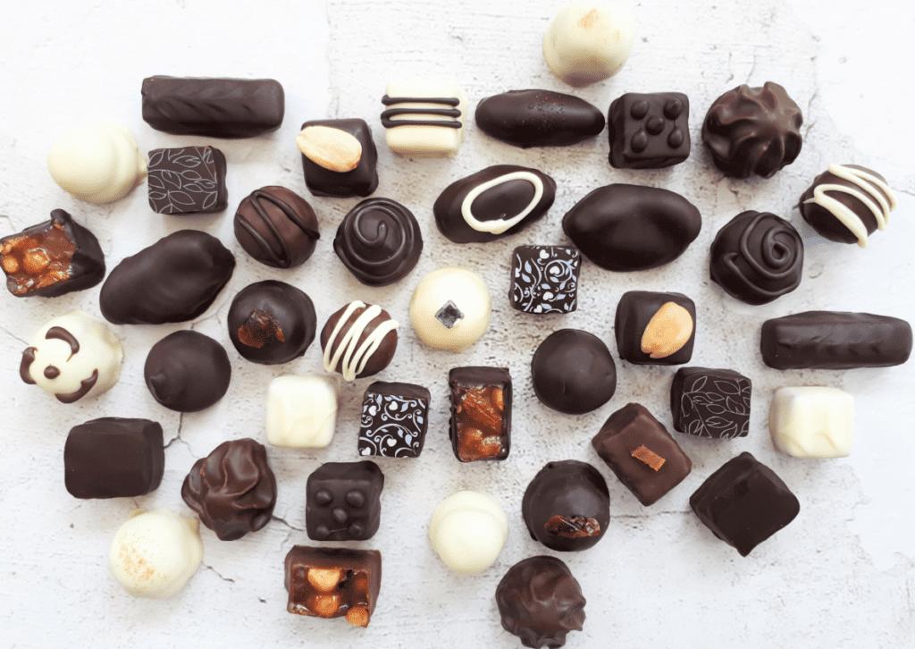 Marktkraam Jackie's Chocolates