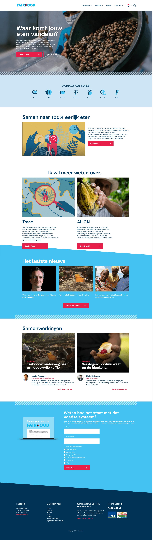 Fairfood website | Go2People Websites