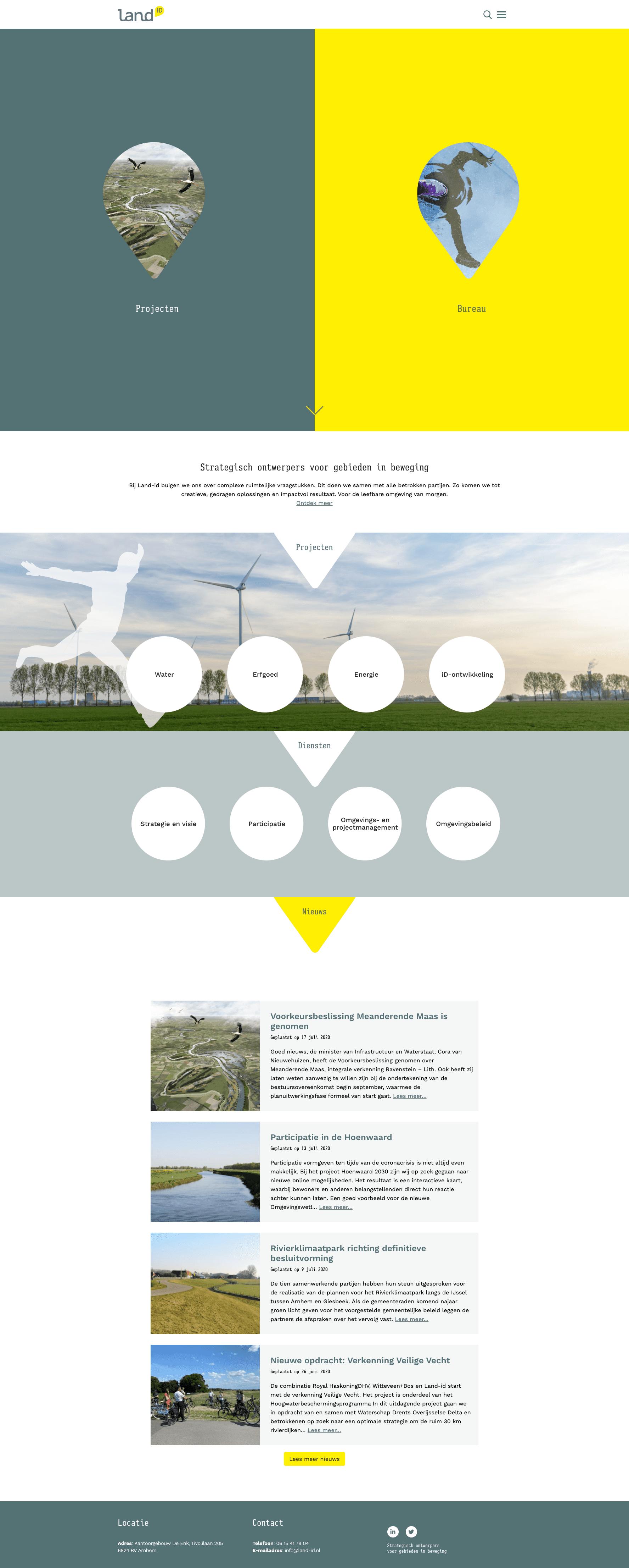 Website landid.nl