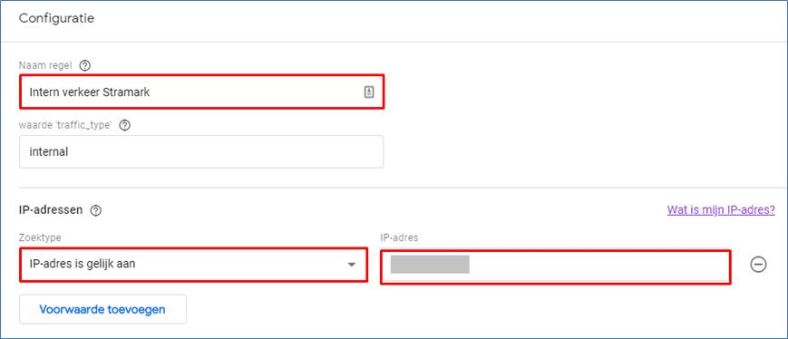 Google Analytics 4.0 20 Regel instellen. - Go2People Websites BV