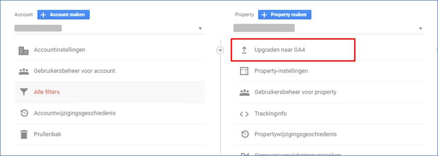 Google Analytics 4.0 6 Upgraden naar GA4  - Go2People Websites BV