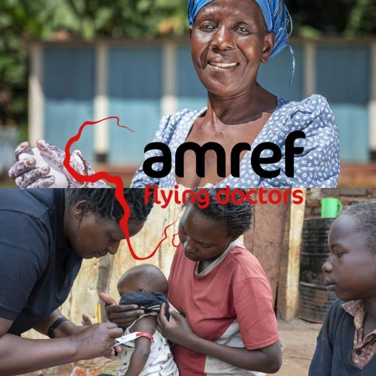 Amref Flying Doctors | Nieuwsbrief case | Go2People Websites