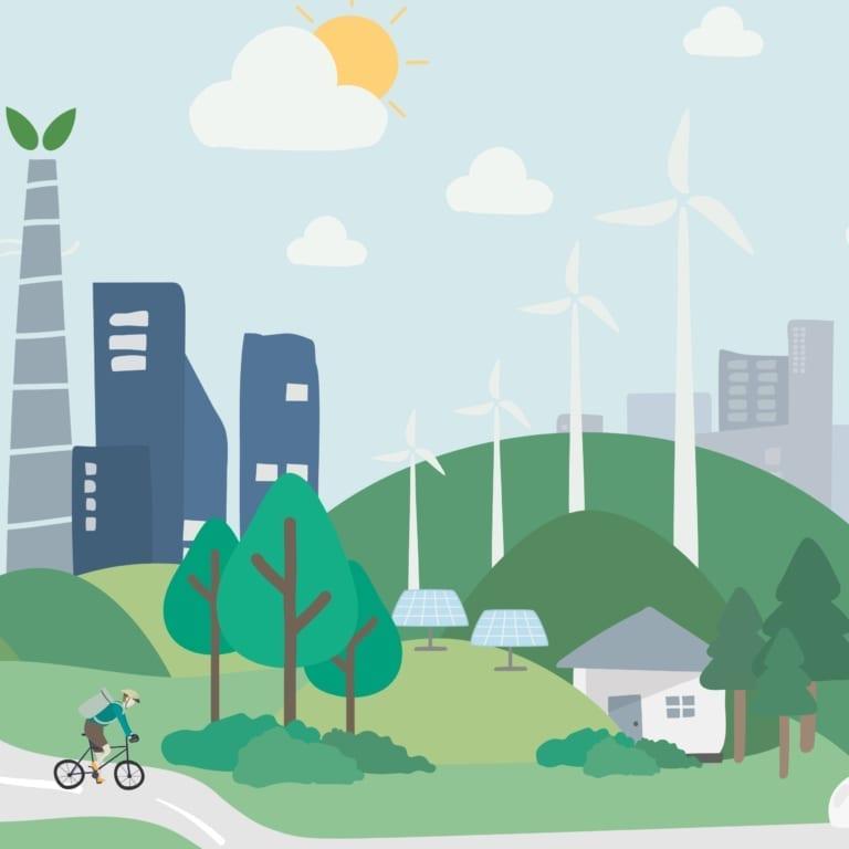 Duurzaam bedrijf squared | Go2People Websites