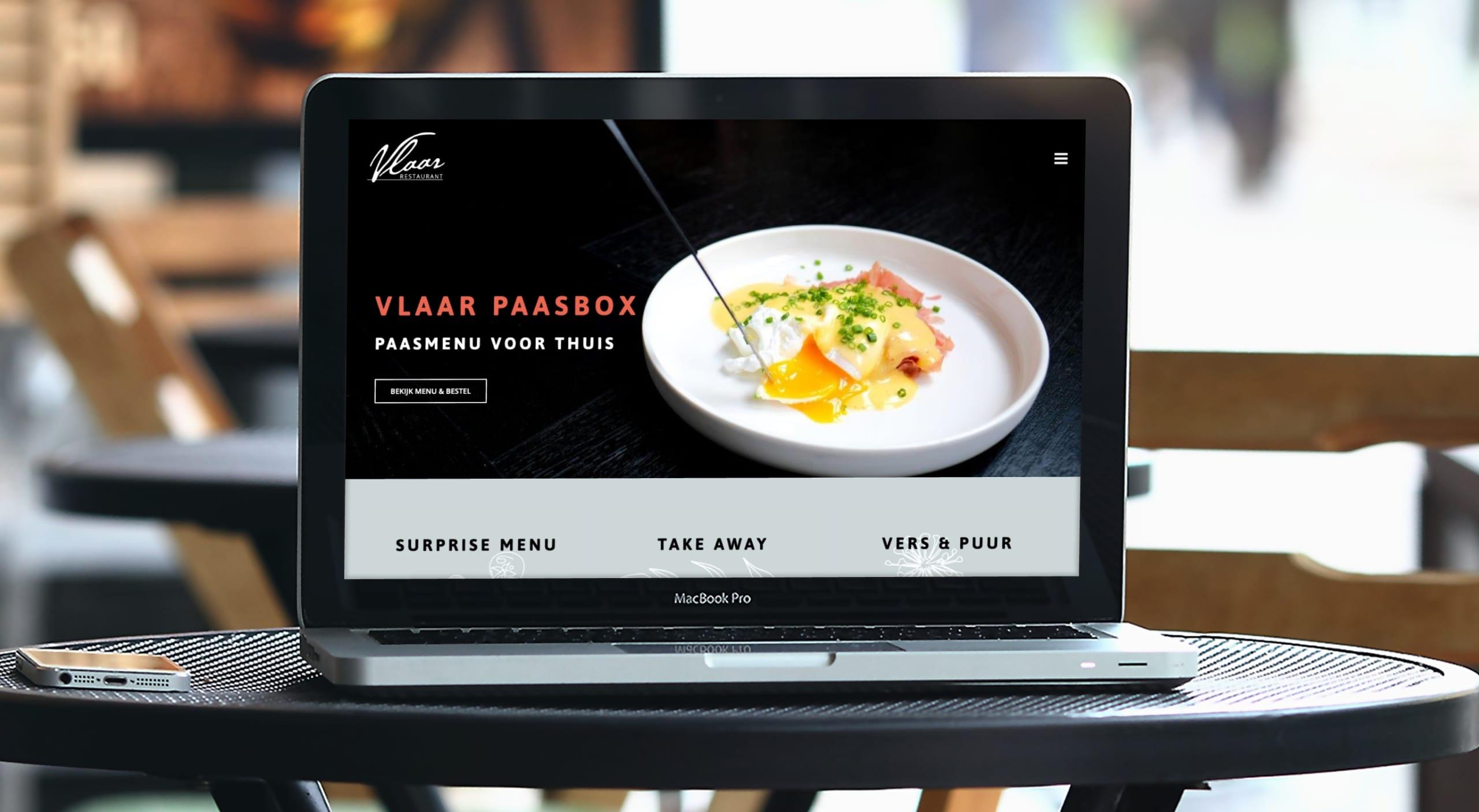 Restaurant Vlaar home | Go2People Websites