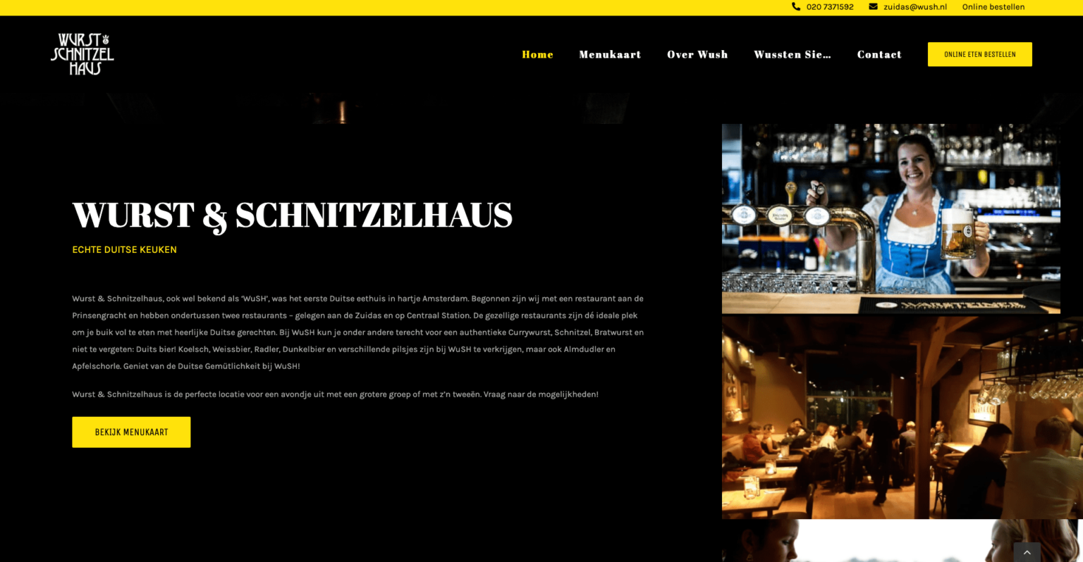 Wurst Schnitzelhaus | Go2People Websites