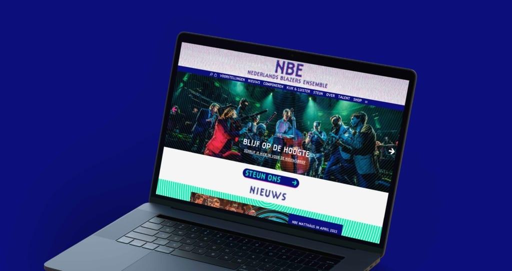 Nederlands Blazers Ensemble home | Go2People Websites